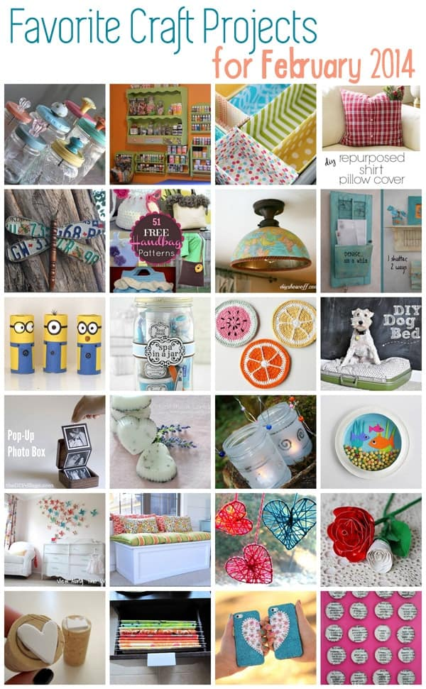 Great Craft Ideas February 2014 Crafts By Amanda