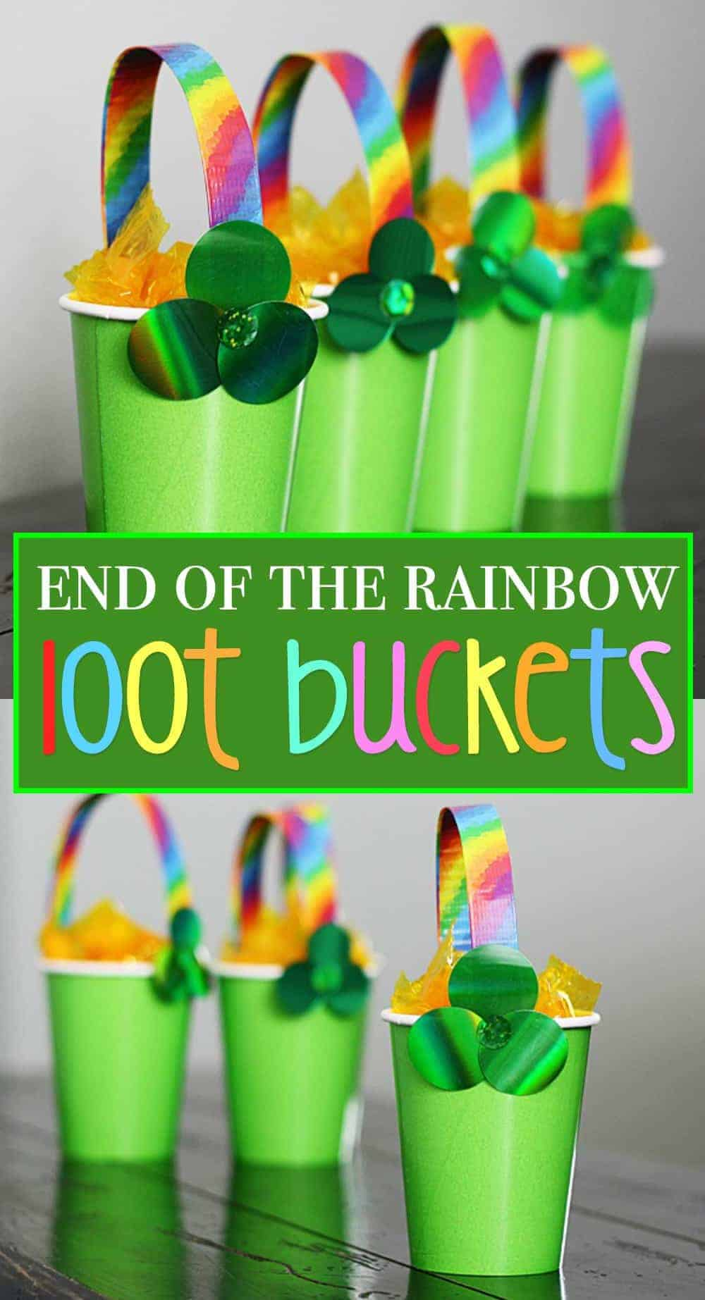 treat cups for st patricks day
