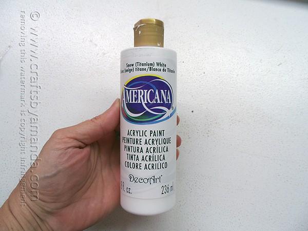 Americana Snow White paint