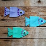 Cardboard Tube School of Fish by @amandaformaro of Crafts by Amanda