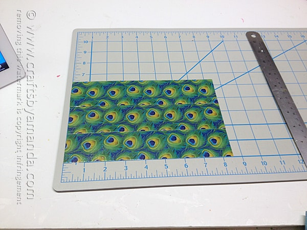 first, make a duck tape sheet