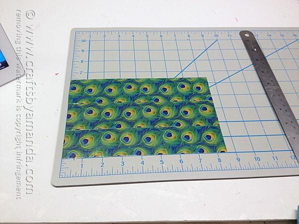 first, make a duck tape sheet