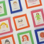 Family Memory Cards for little ones - Crafts by Amanda @amandaformaro