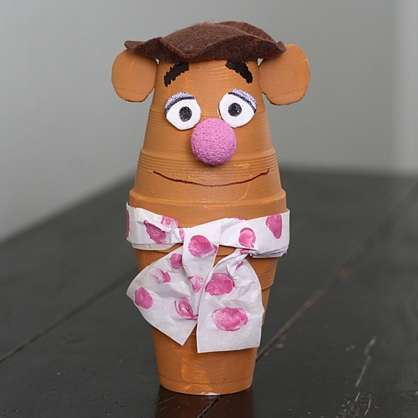Foam Cup Fozzie Bear by @amandaformaro Crafts by Amanda
