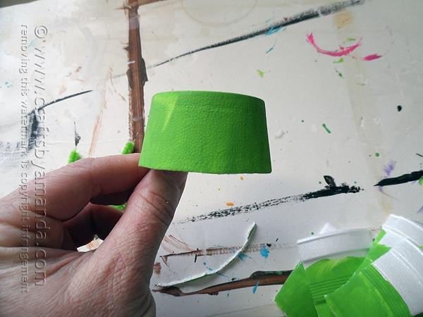 Egg Carton Frog - Crafts by Amanda @amandaformaro