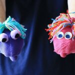 Easy Mitten Puppets by @amandaformaro of Crafts by Amanda