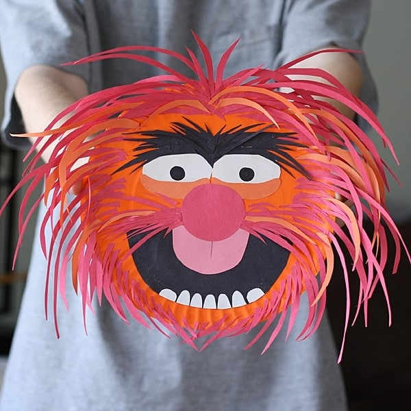 Muppets Animal Free Printable: Paper Plate Animal From The Muppets