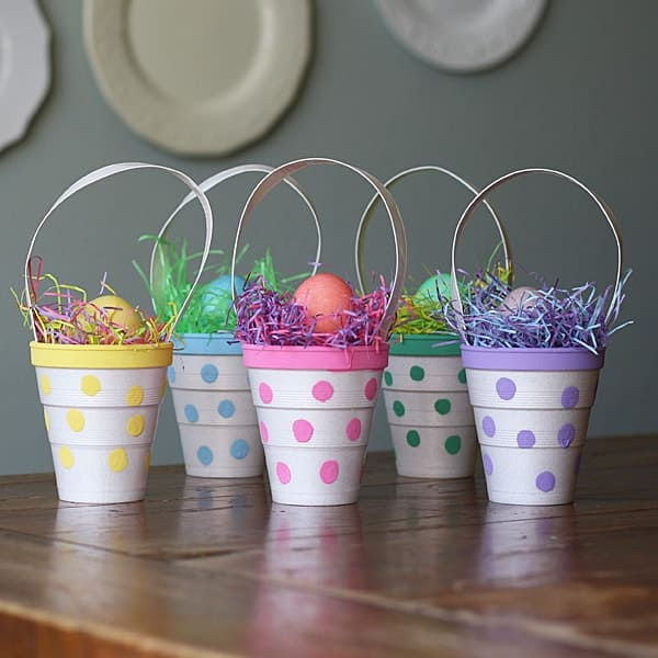 Polka Dot Treat Cups