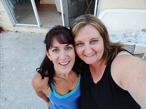 Amanda and Jodi in Florida
