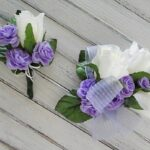 Make your own corsage and boutonniere for prom or homecoming!
