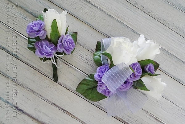 Make your own corsage and boutonniere for prom crafts by amanda 1 make your own corsage and boutonniere for prom or homecoming mightylinksfo