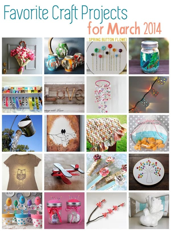 Great Craft Ideas - March 2014