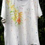 Jackson Pollock Inspired Tee by @amandaformaro of Crafts by Amanda