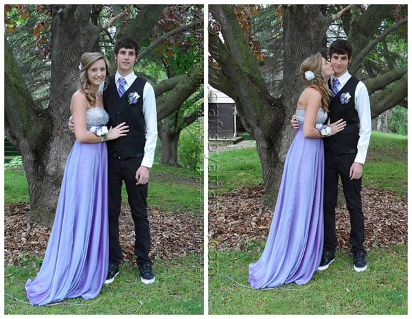 Kristen and Nick - senior prom