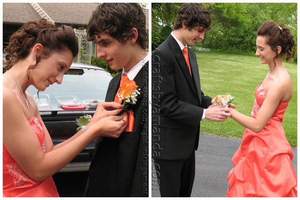 Kristen and Nick - prom