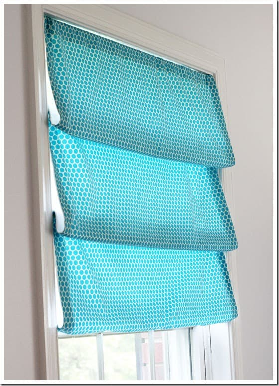 No Sew Window Treatment - In My Own Style