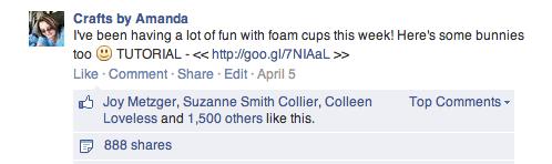Foam Cup Bunnies - Spoonful