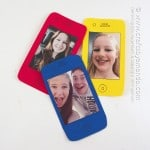 Cell Phone Selfie Card for Father's Day or Mother's Day by @amandaformaro Crafts by Amanda