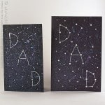 Galaxy Constellation Father's Day Card by @amandaformaro Crafts by Amanda