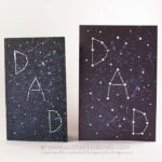 Galaxy Constellation Father's Day Card