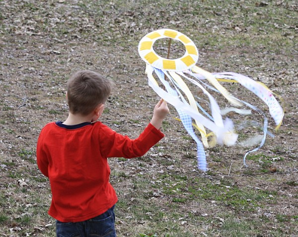 Paper Plate Kite Crafts By Amanda