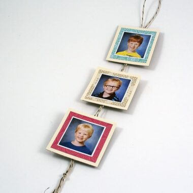 School Photo Chain Magnet @amandaformaro Crafts by Amanda