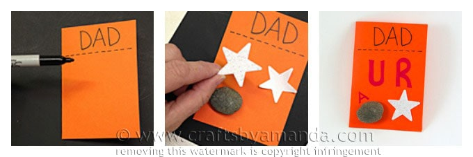 Dad is a Rock Star Card, Amanda Formaro, Crafts by Amanda