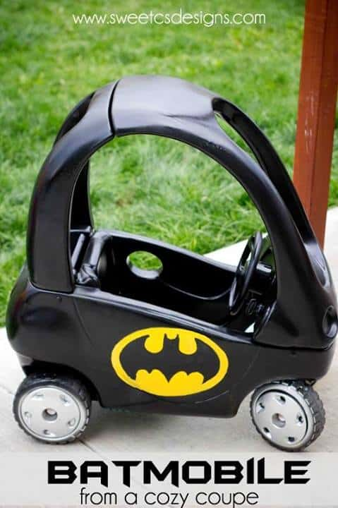 Batmobile Cozy Coupe - Sweet C's Designs