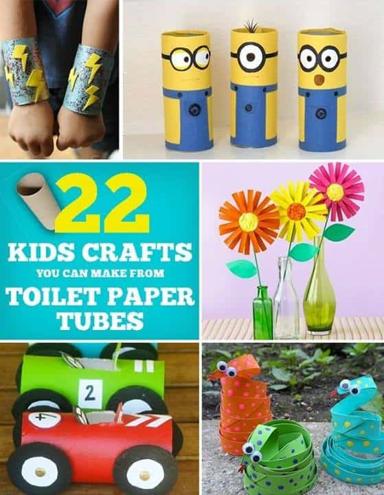 22 Cool Kids Crafts You Can Make From Toilet Paper Tubes - Buzzfeed