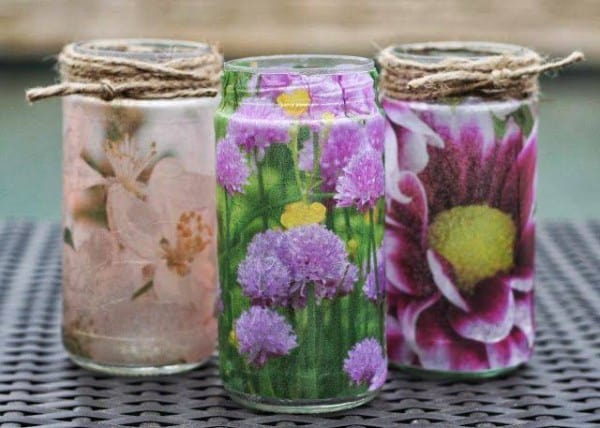 DIY Photo Vases - Bliss Bloom Blog