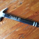 Nailed it Painted Hammer for Dad by Amanda Formaro of Crafts by Amanda