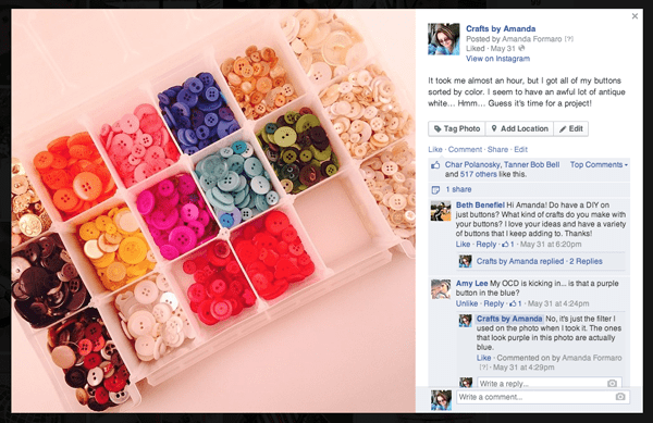 Crafts by Amanda on Facebook