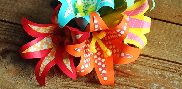 Tropical Paper Flowers