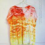Sunshine Ombre Shibori Tie Dye Top