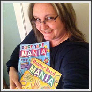 Amanda Formaro and her craft books
