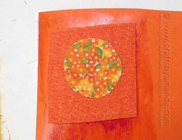 orange patterned ladybug body