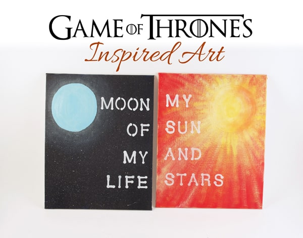 Game of Thrones Inspired Art