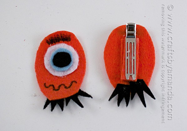 Monster Bookmark Craft - by Amanda Formaro - Crafts by Amanda