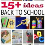 15 Fun Back to School Ideas
