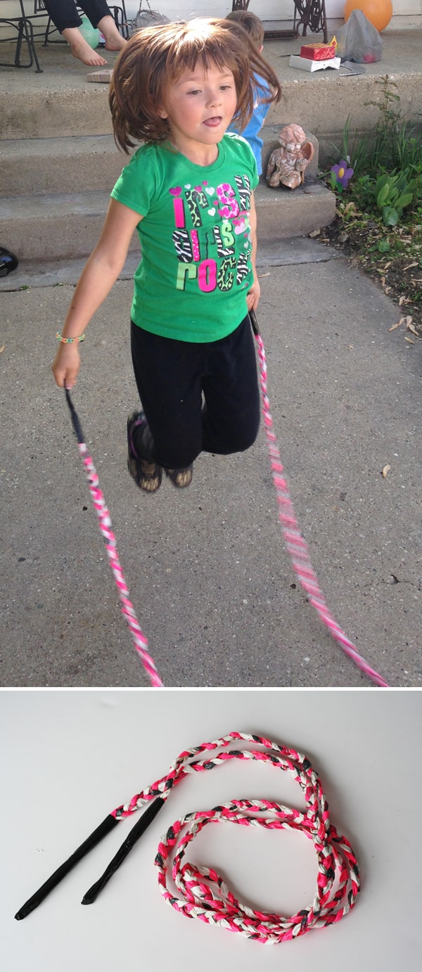 Outdoor Play with Duct Tape