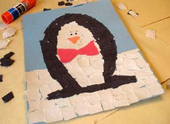 Mosaic Penguin