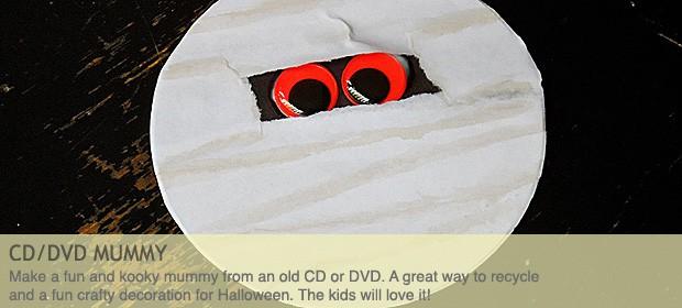 CD/DVD Mummy Craft