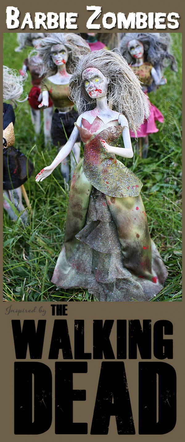 Barbie Zombies Craft Inspired By The Walking Dead