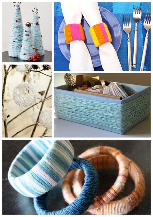 Decorative ways to use yarn