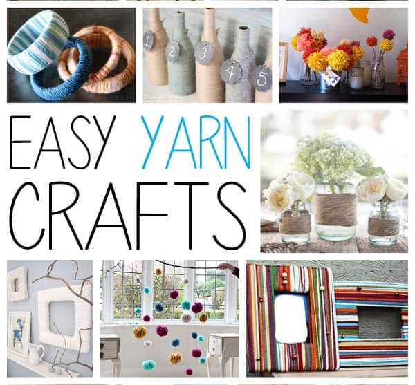Easy Yarn Crafts Creative Ways to Use Yarn Without Knitting or Crocheting