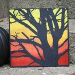 DIY Spooky Tree Painting for Halloween