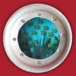 Paper Plate Craft: Ship's Porthole