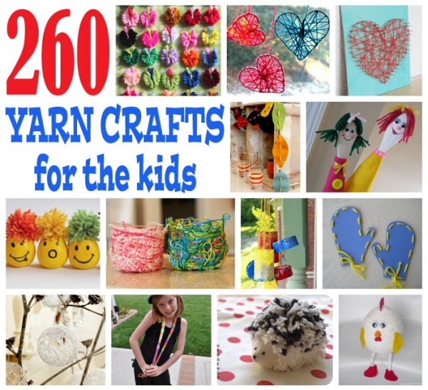yarn crafts for kids FB