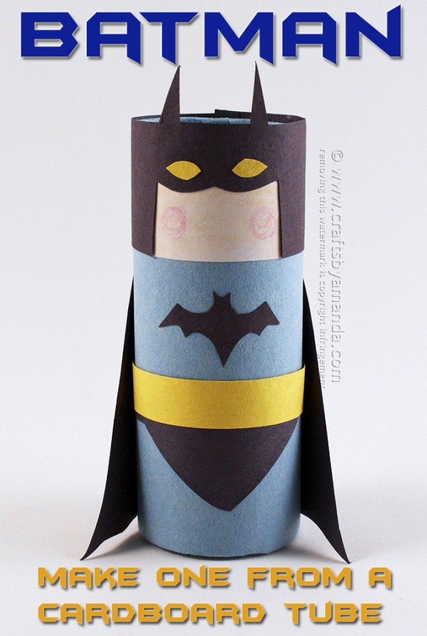 superhero craft ideas for preschoolers cardboard batman crafts by amanda 7214