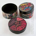Comic Book Crafts: Superman & Batman Boxes
